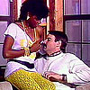 Black seventies lady fucked hard by a big horny white cock