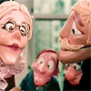 Seventies puppets thinking of a dirty movie for some money