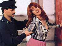 Redhead gets nailed by a cop