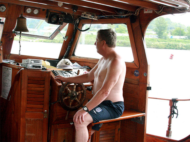 Harold has taken Marketa on a boat trip along the river but the hot babe is all but interested. she can mind of a lot of things that would be more fun to do. Like banging for instance. But Harold seems to be more interested in boating... or is he?