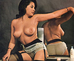 June palmer. June Palmer showing her perfectly fine sixties body parts