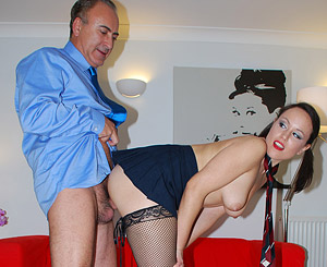 Lucy love. Hardcore british UK babe shagging an lascivious old guy pics