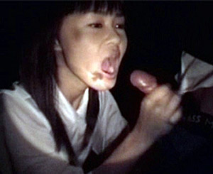 Gallery th 32166 t. A lascivious asian sucks in the dark with a small asian cock