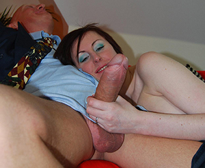 Huge dick. Lara gets a huge tool to play with and she goes bazerk!
